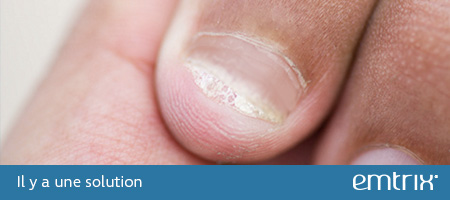 Brittle, crumbly or ragged nails. There is a solution: Emtrix
